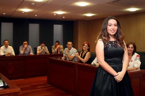 130717 Mireia Centelles, reina Fira d'Onda 2017 por sorteo en sesión plenaria Ayuntamiento